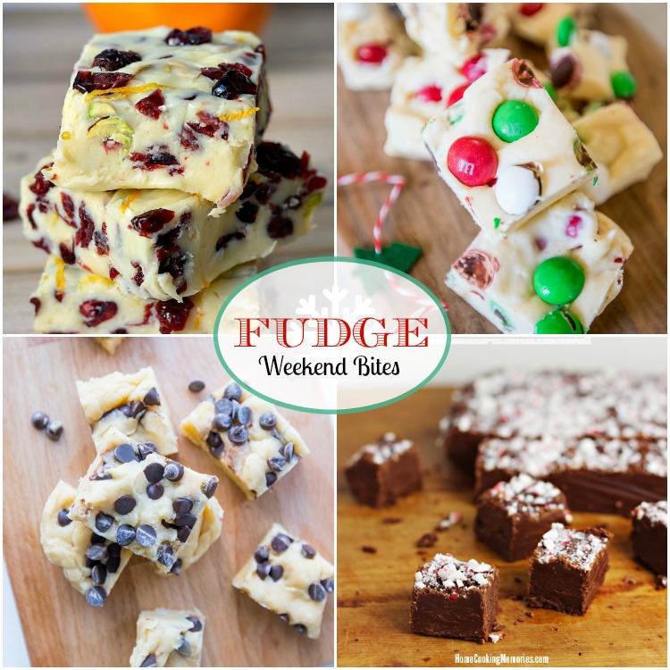 Weekend Bites Fudge
