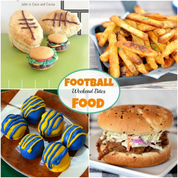 Football Food at Weekend Bites