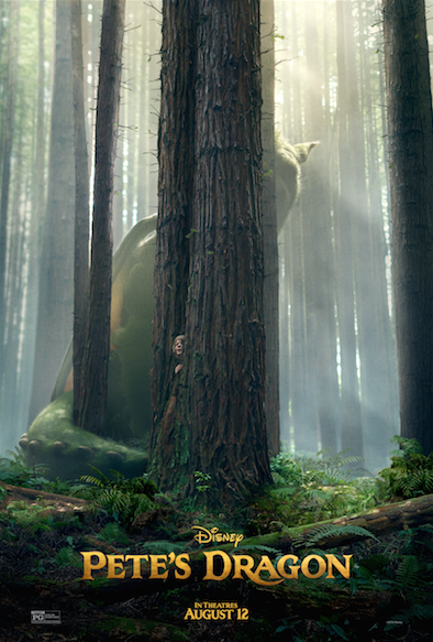 Pete's Dragon in Theaters August 12th First Look Trailer