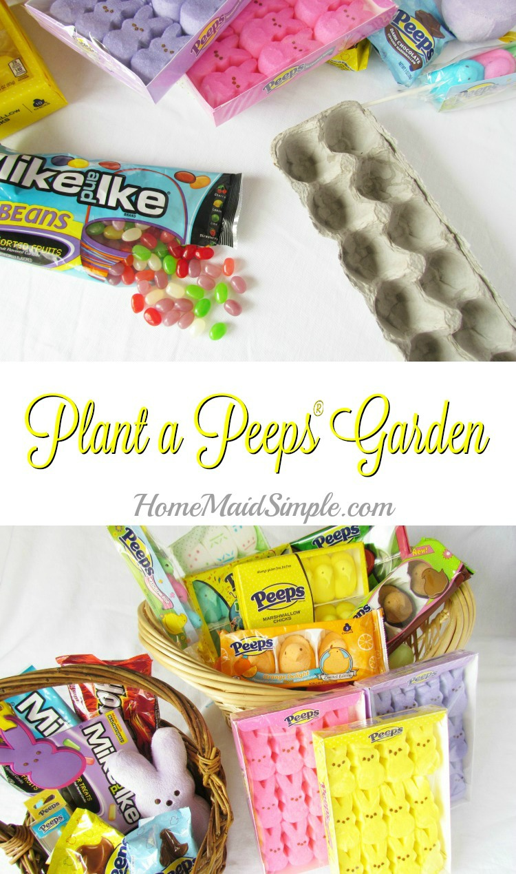 How fun! Plant Mike and Ike® Jellybeans and grow a PEEPS® Garden ad #PEEPSEASTER