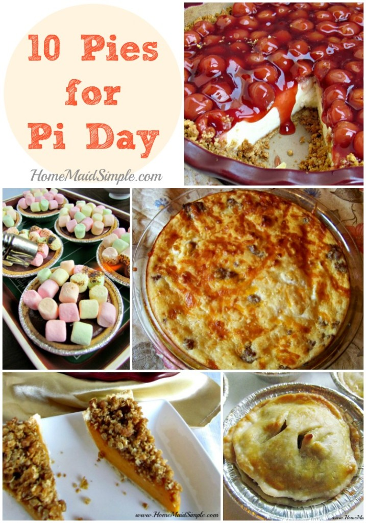 10 Pies I want to make for Pi Day
