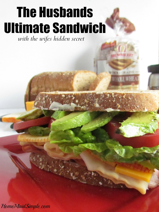 Make the ultimate sandwich with Brownberry® Whole Grains 100% Whole Wheat Bread