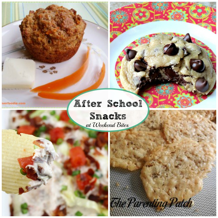 Weekend Bites After School Snacks