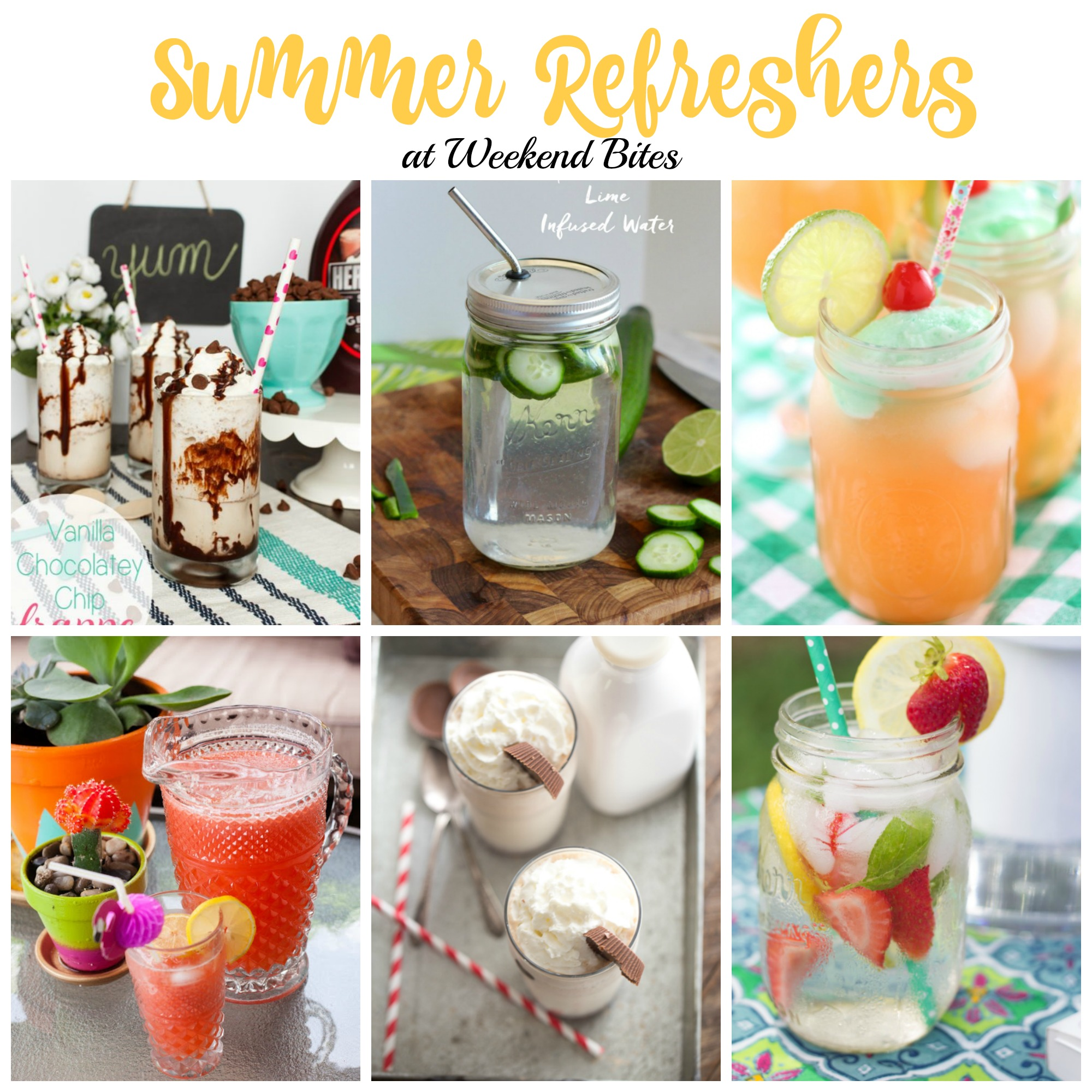 Summer Refreshers at Weekend Bites