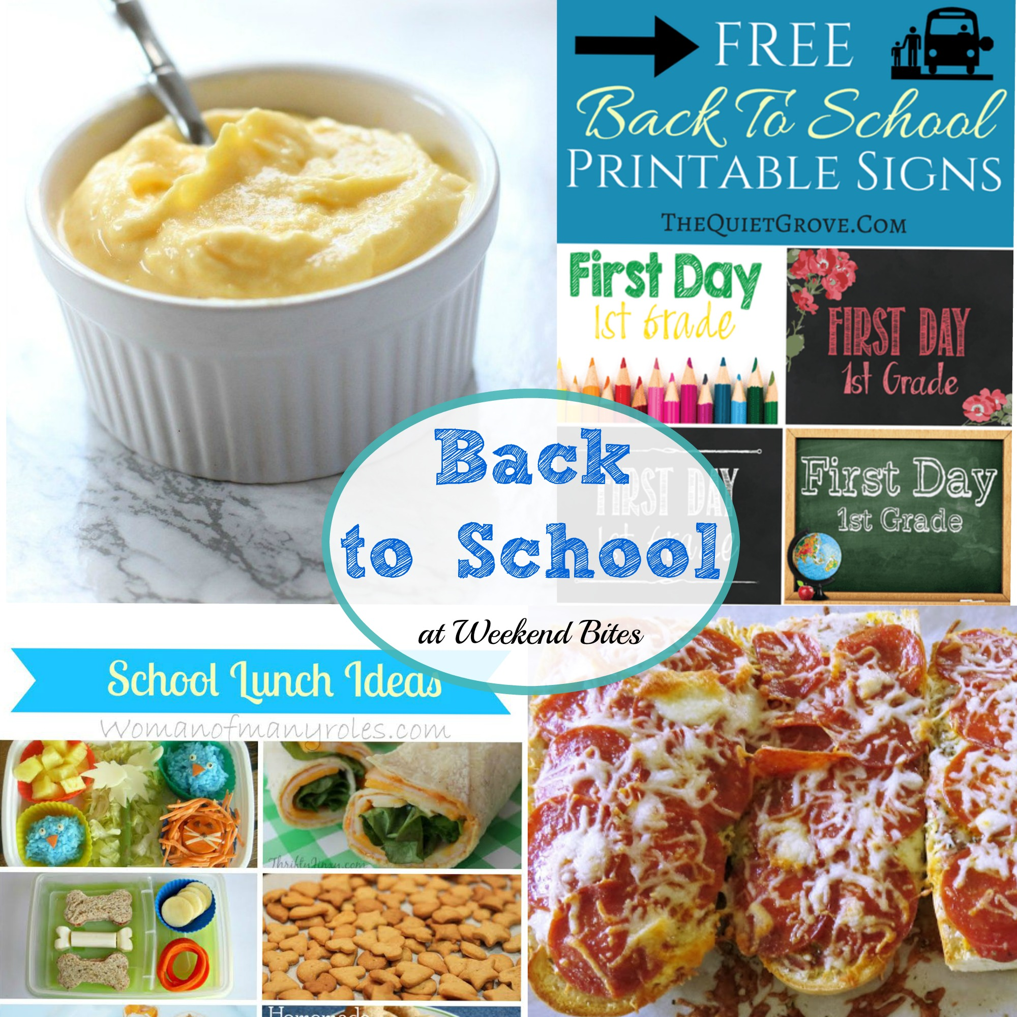 Back to School Finds at Weekend Bites. Share your favorite posts from the week with us!