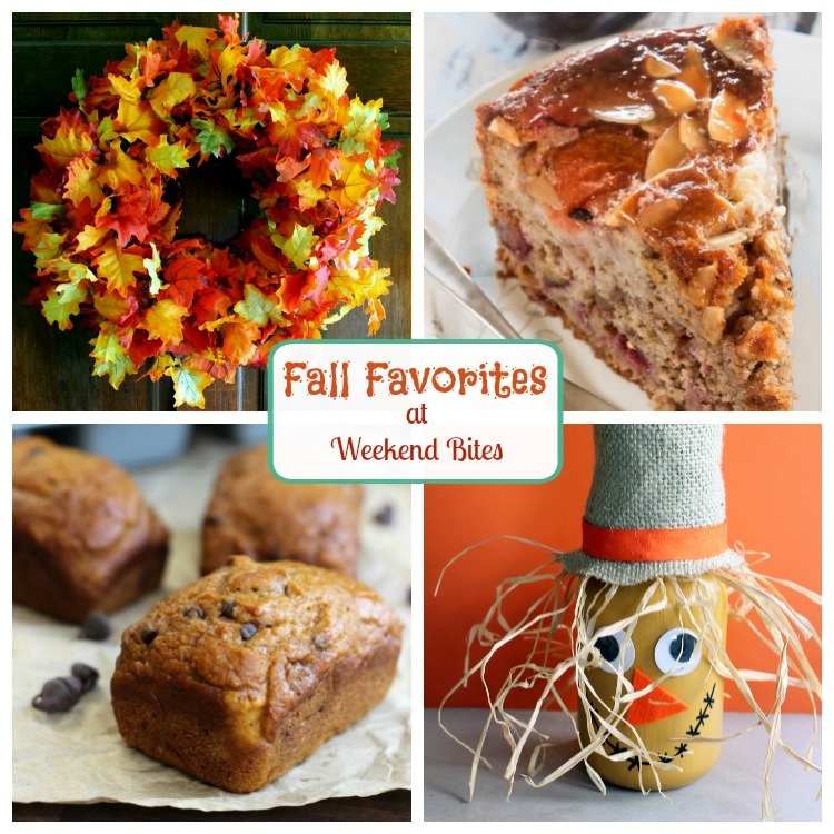 Fall is in the air. Get these delightful fall favorites crafts and treats at Weekend Bites