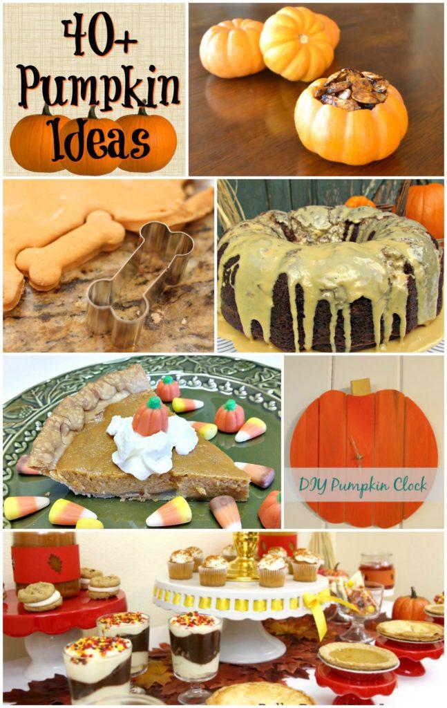 40+ ideas to do with Pumpkins!