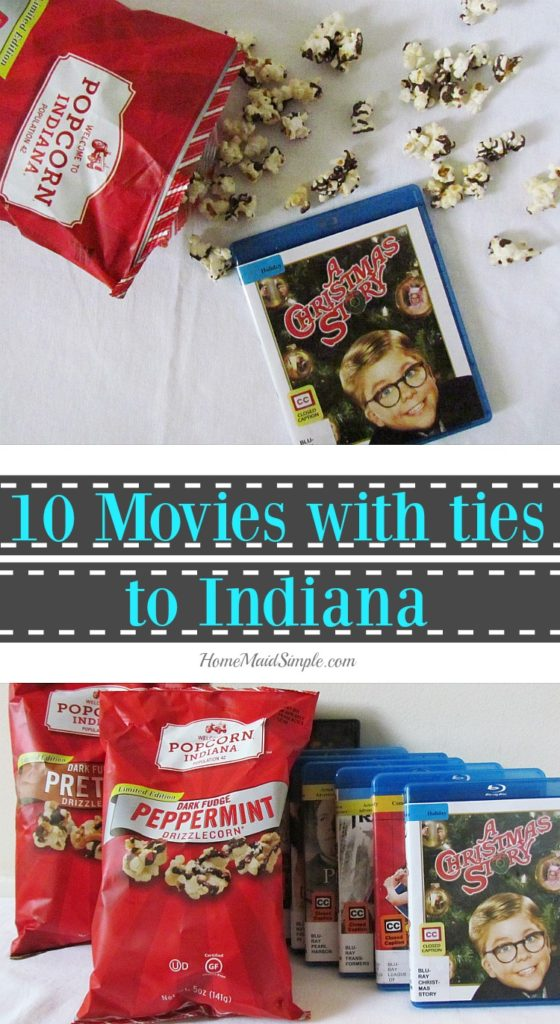 Check out these 10 movies with ties to Indiana while munching on your Popcorn, Indiana kettlecorn. ad