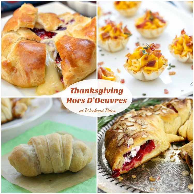Grab these hors d'oeuvres for Thanksgiving!