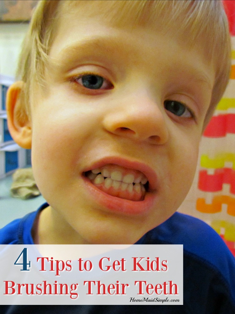4 Tips to Get Kids Brushing their Teeth