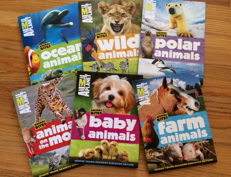 New Animal Planet Animal Bites Books: Baby Animals and Animals on the Move + 6 Book Set Giveaway