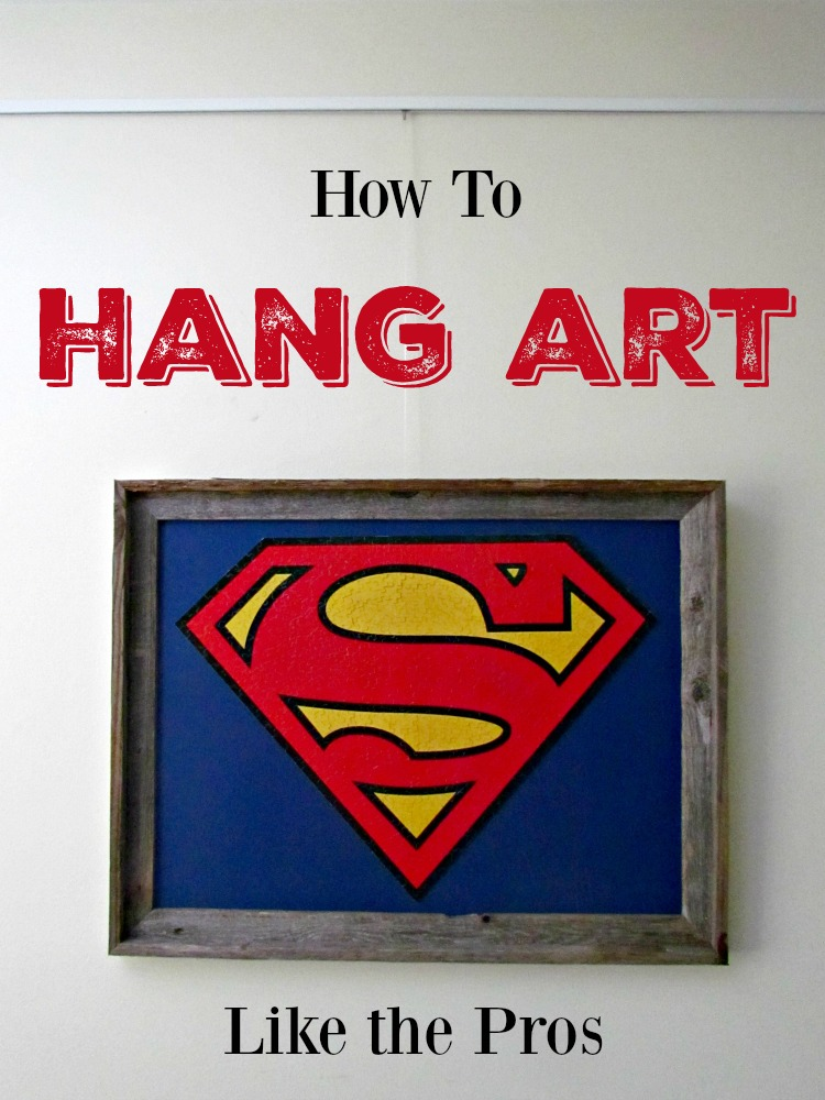 How to Hang Art like the Pros