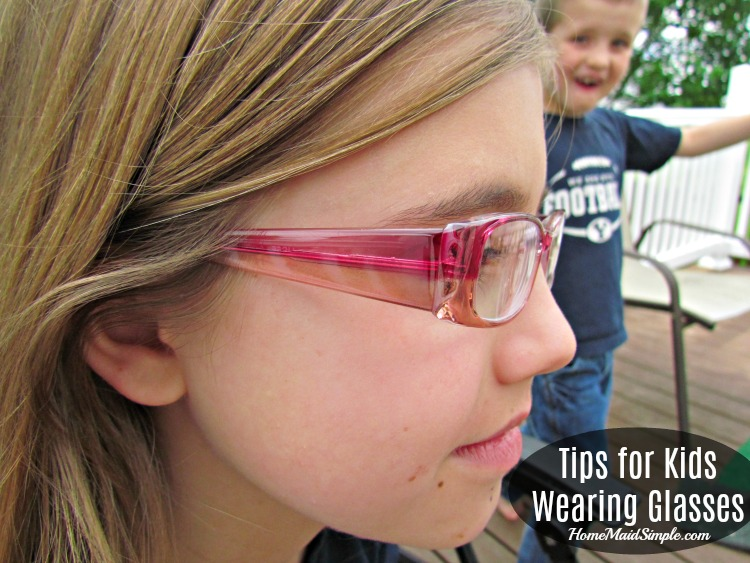 Tips for Kids Wearing Glasses. ad