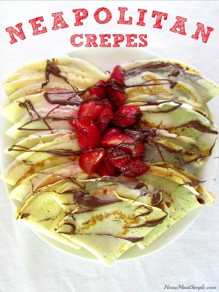 Neapolitan Crepes with Rigoni di Asiago for breakfast, lunch dinner, or snack! ad