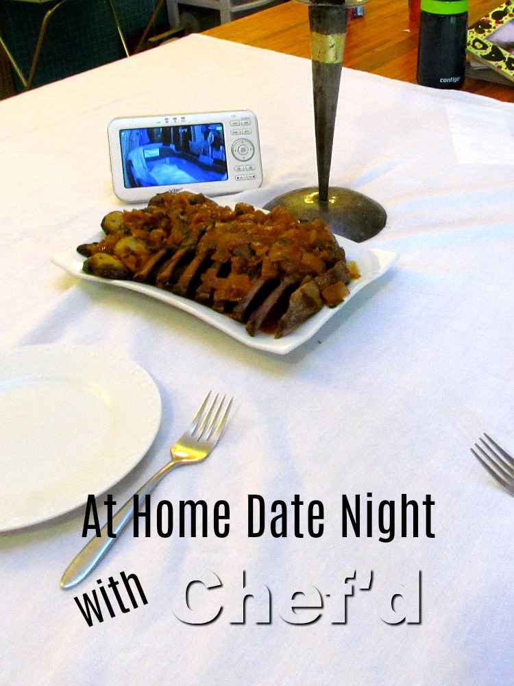 Have a home date night with a meal adults can enjoy after the kids have gone to bed. ad
