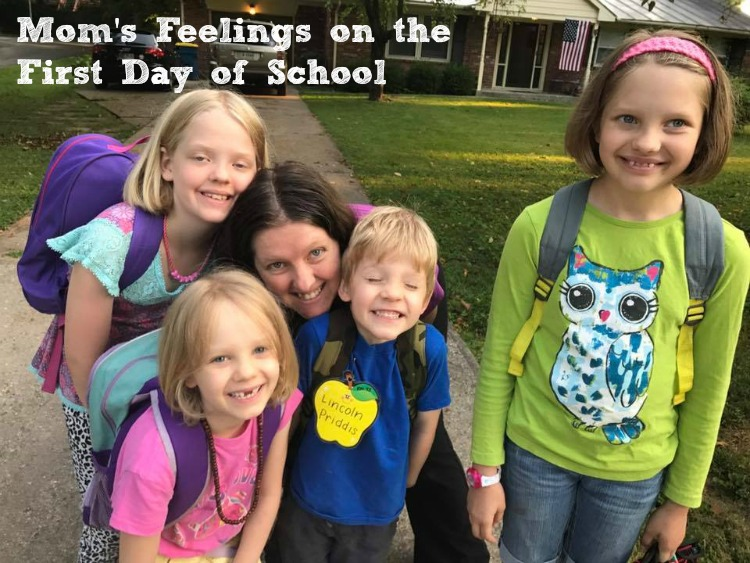 A Mom's Feelings on the First Day of School