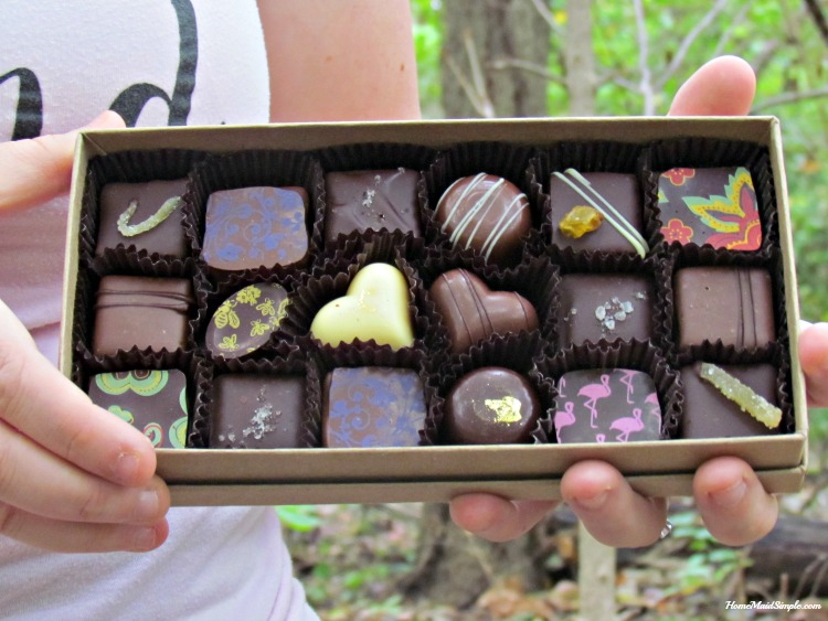 Black Dinah Chocolates infuse local ingredients sourced from the land for a delicious confection. ad