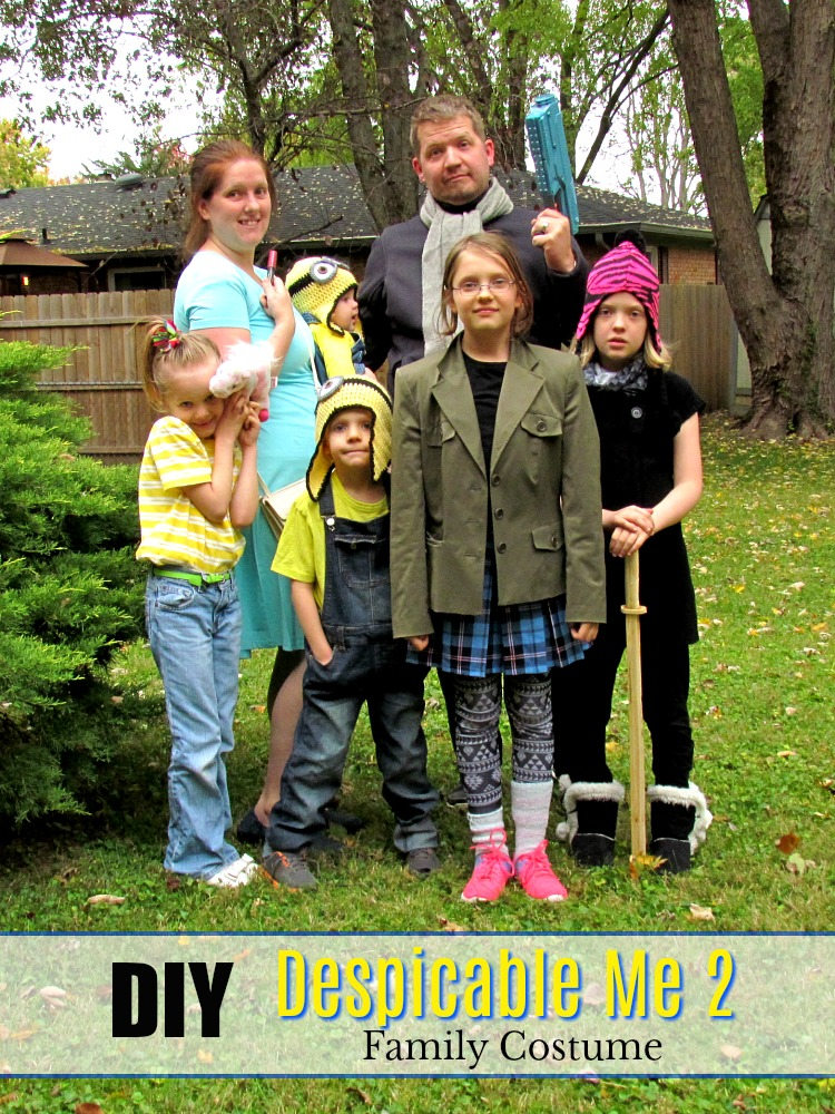 Dress your family as Despiable Me - a costume party hit!