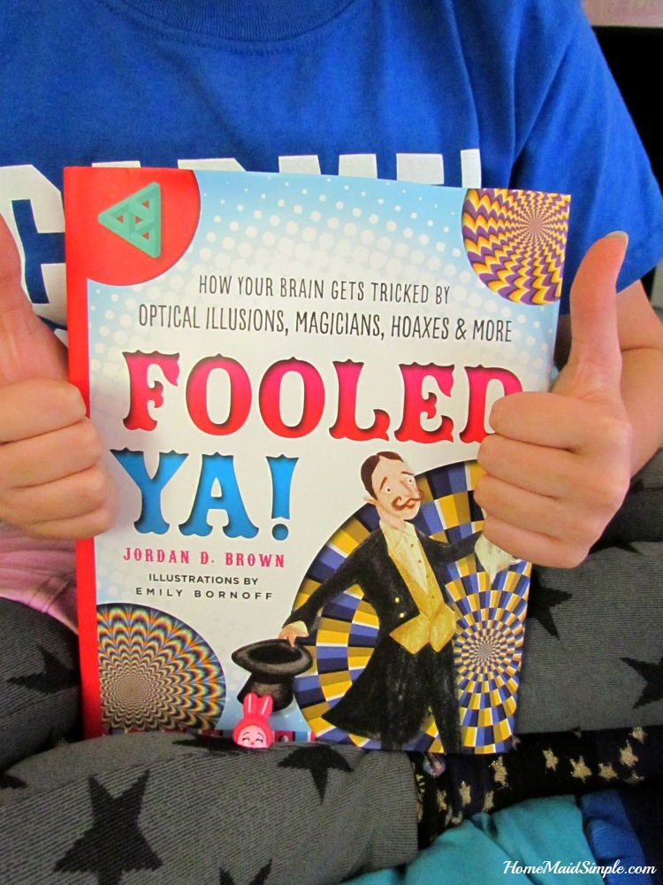 2 Thumbs Up for Fooled Ya! by Jordan D. Brown.