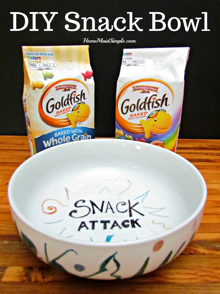 With a designated snack bowl, you'll never forget snack time again. ad #PlantYourVote