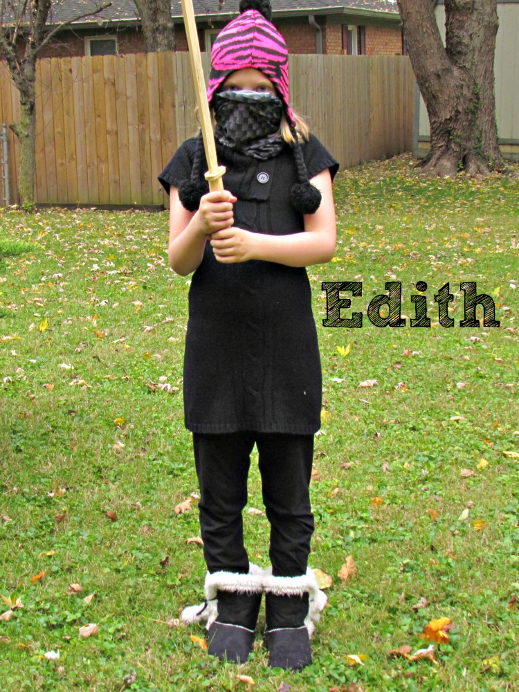DIY Despicable Me 2 costume Edith.