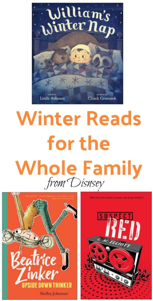 Check out these new winter reads from Disney! ad