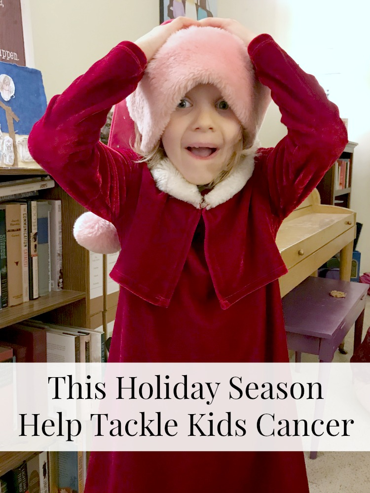 This holiday season, give a little back to kids in need. Help Tackle Kids Cancer. ad