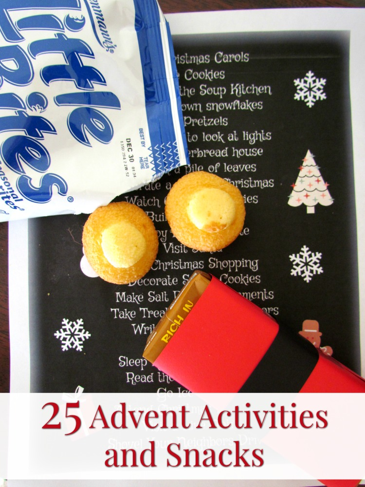 Celebrate the season with Little Bites® and these 25 Advent Activities. ad