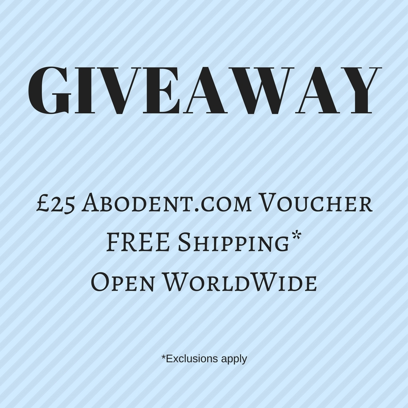 £25 Voucher to Abodent.com Giveaway