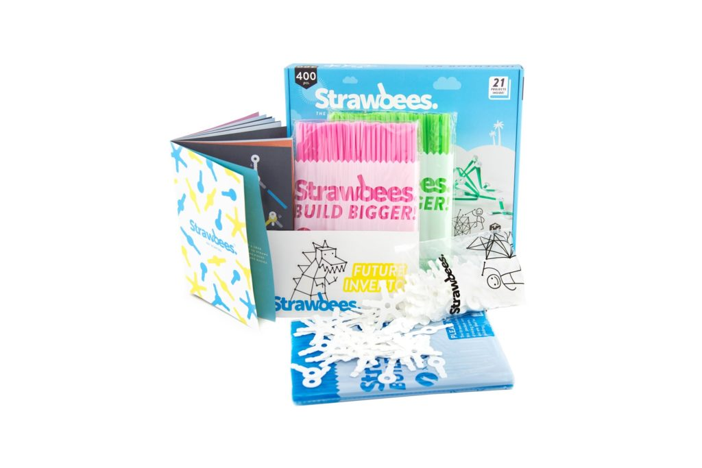 Strawbees Inventor Kit review. ad