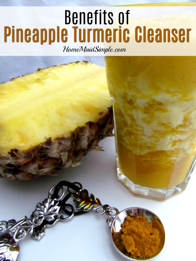 Health benefits of a Pineapple Turmeric Cleanse. ad