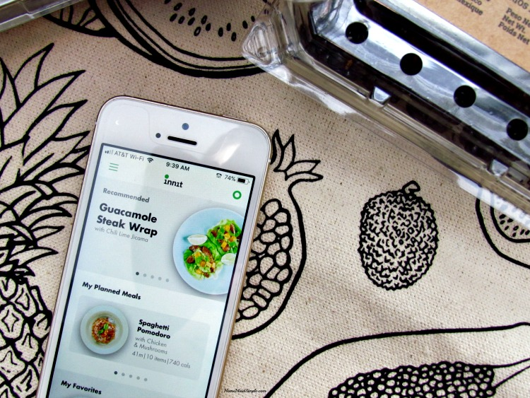 Make meal planning easier with the Innit App.