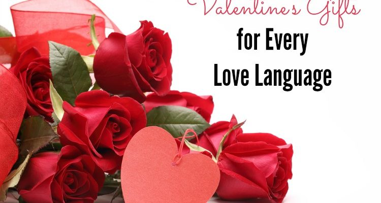 Valentines Gifts for Each Love Language