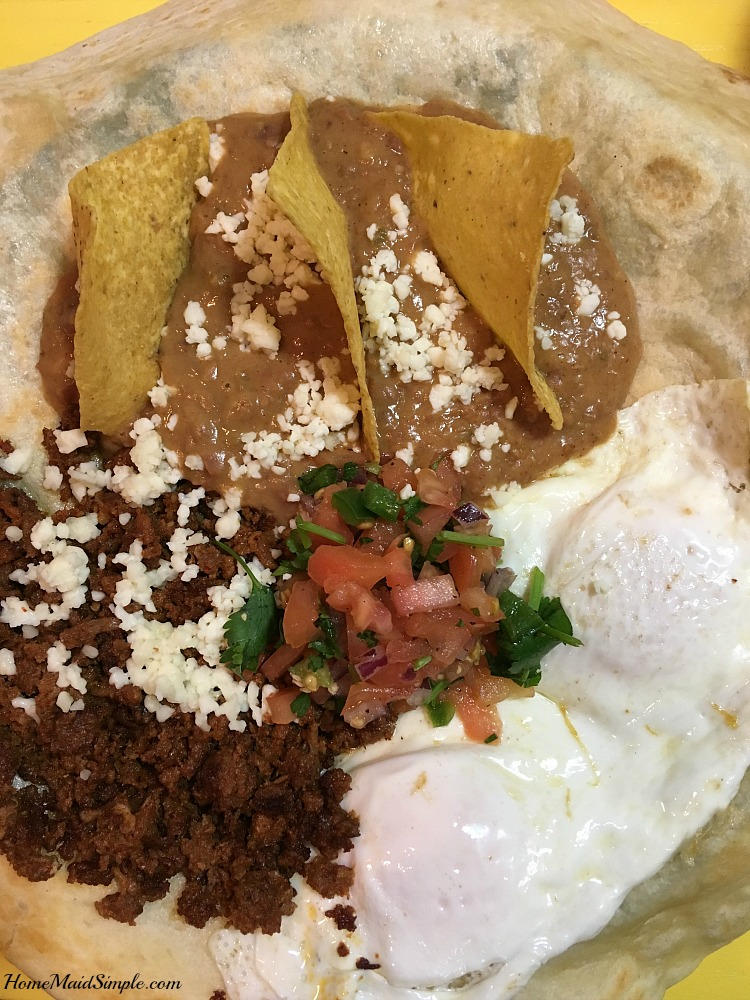 Cafe Ranchero from Bub's Cafe satisfies your spicy runny egg craving.