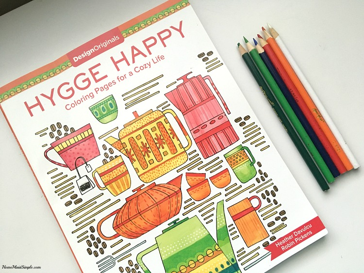Find Hygge with Hygge Happy Coloring Pages