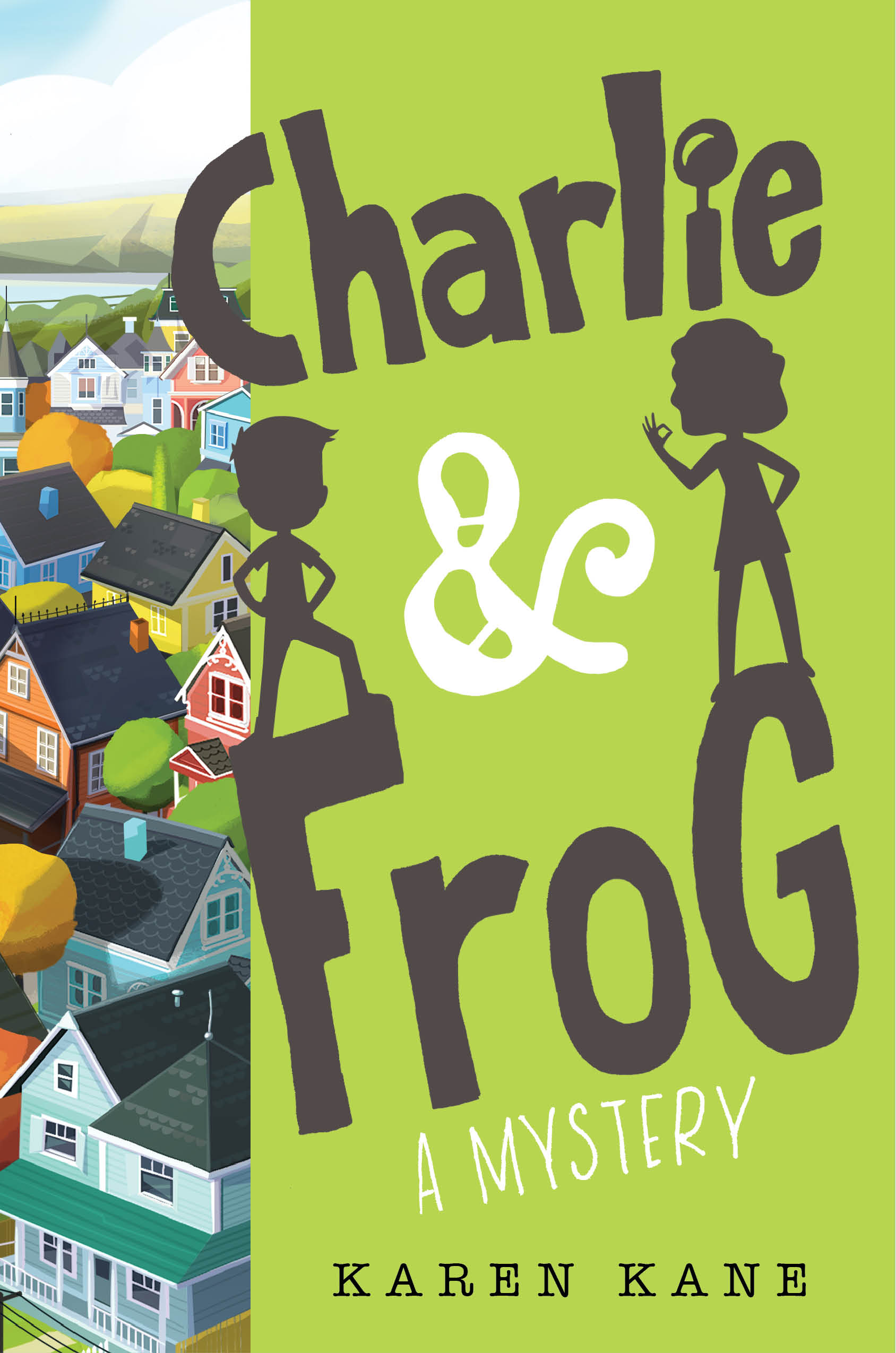 Charlie and Frog by debut author Karen Kane