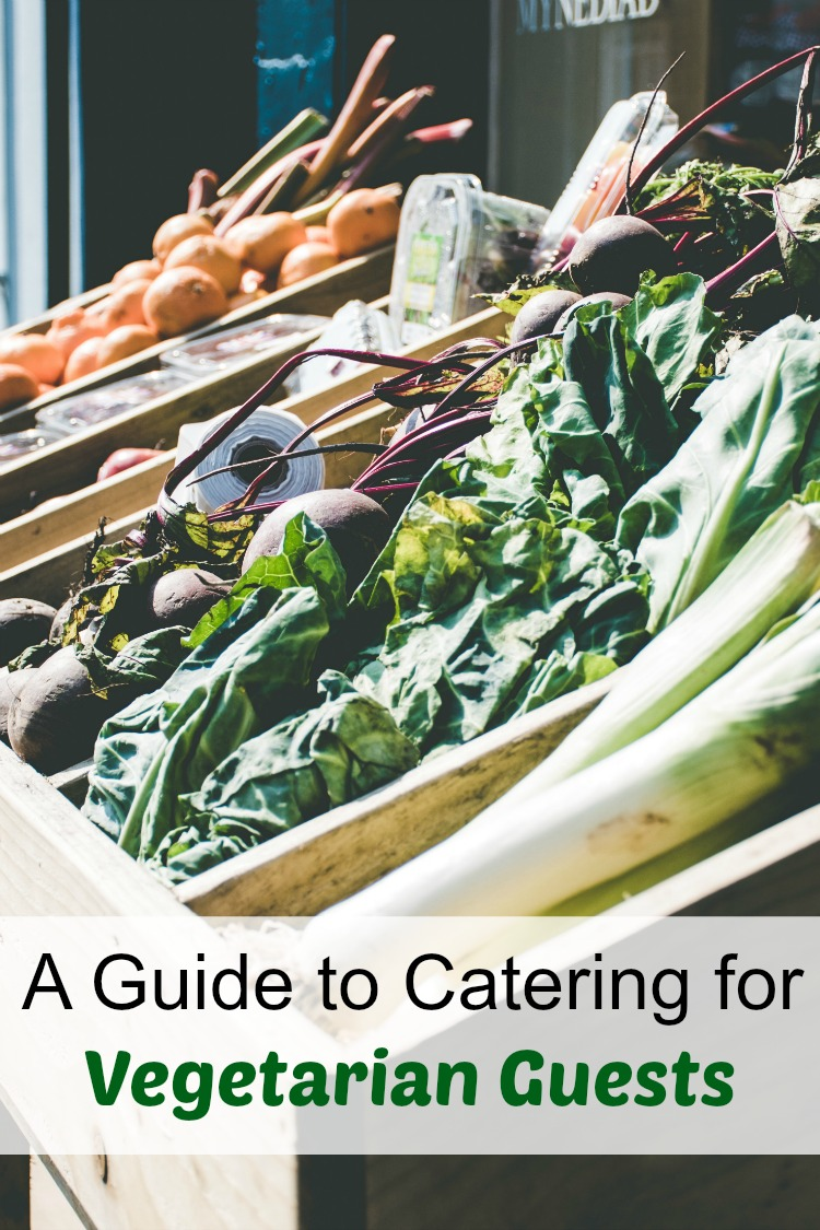 A guide to catering for your vegetarian guests.