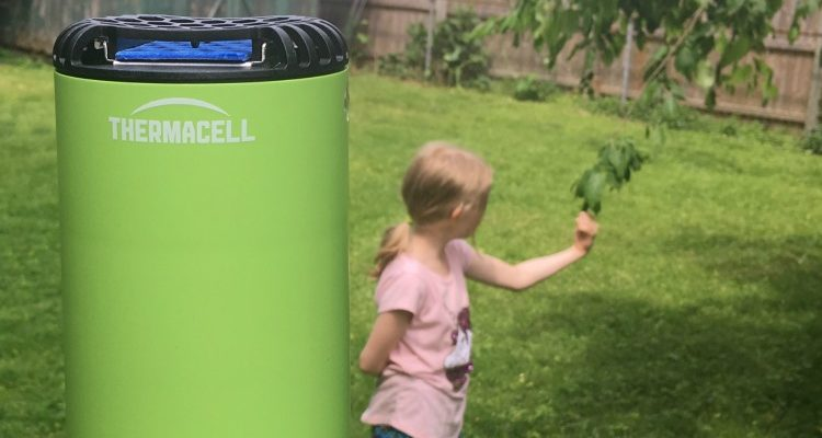 Skeeter Syndrome and a Thermacell Patio Shield Giveaway