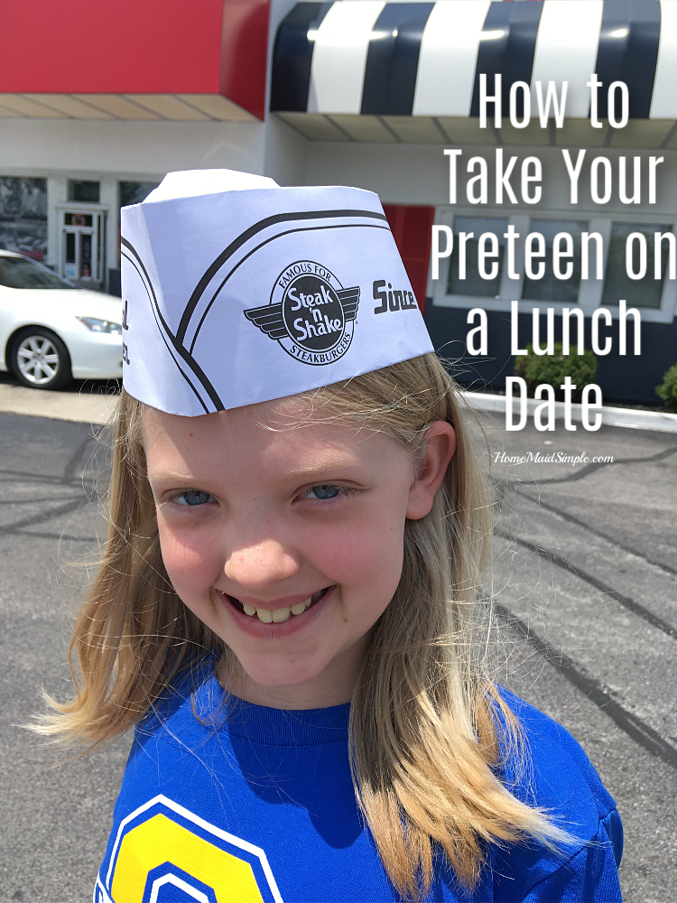 It's important to get one on one time with our preteens - this is how to make it happen over a lunch date ad