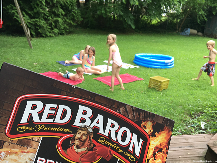 Red Baron helps tame the summer chaos with a summer routine