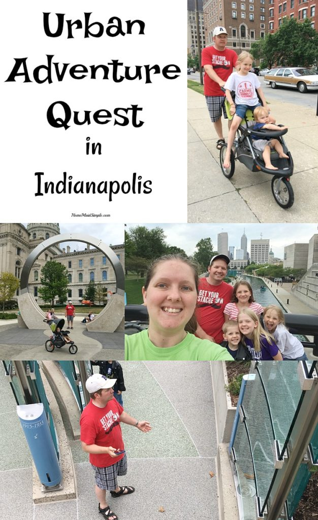 Gather your family and friends for an urban adventure quest in Indianapolis.