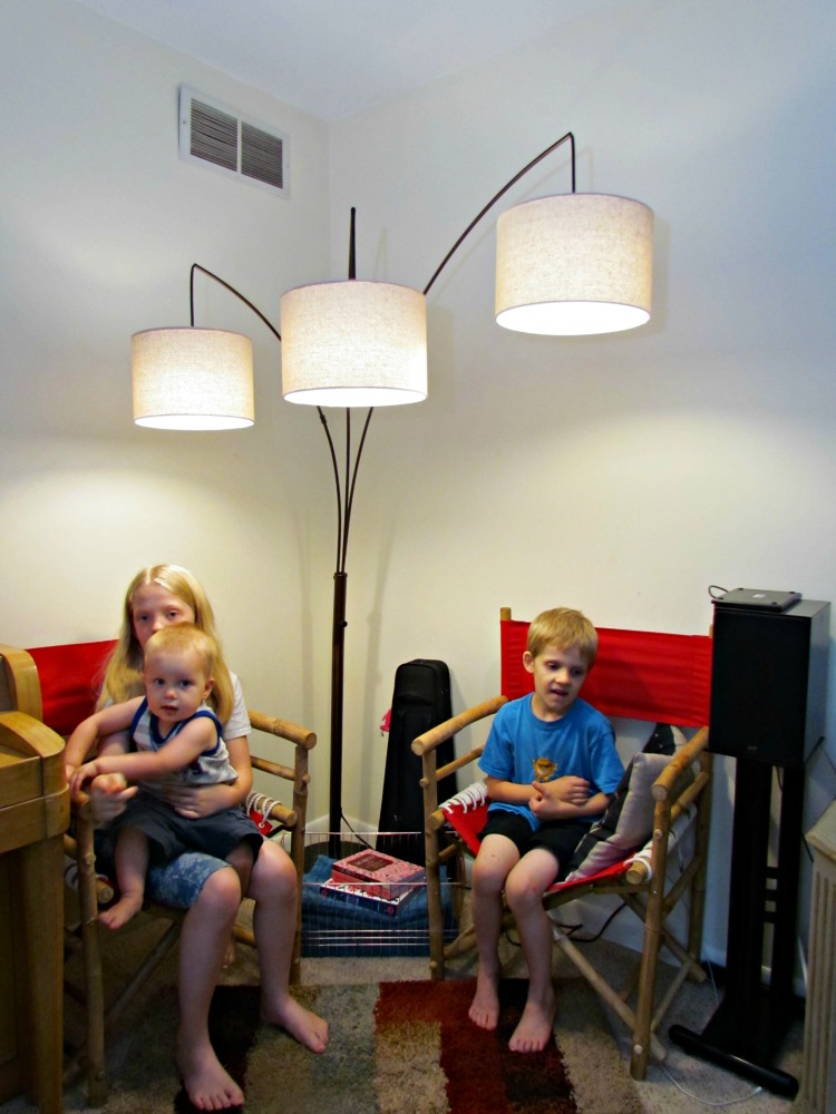 Kids love this sitting area lit by brightech. ad