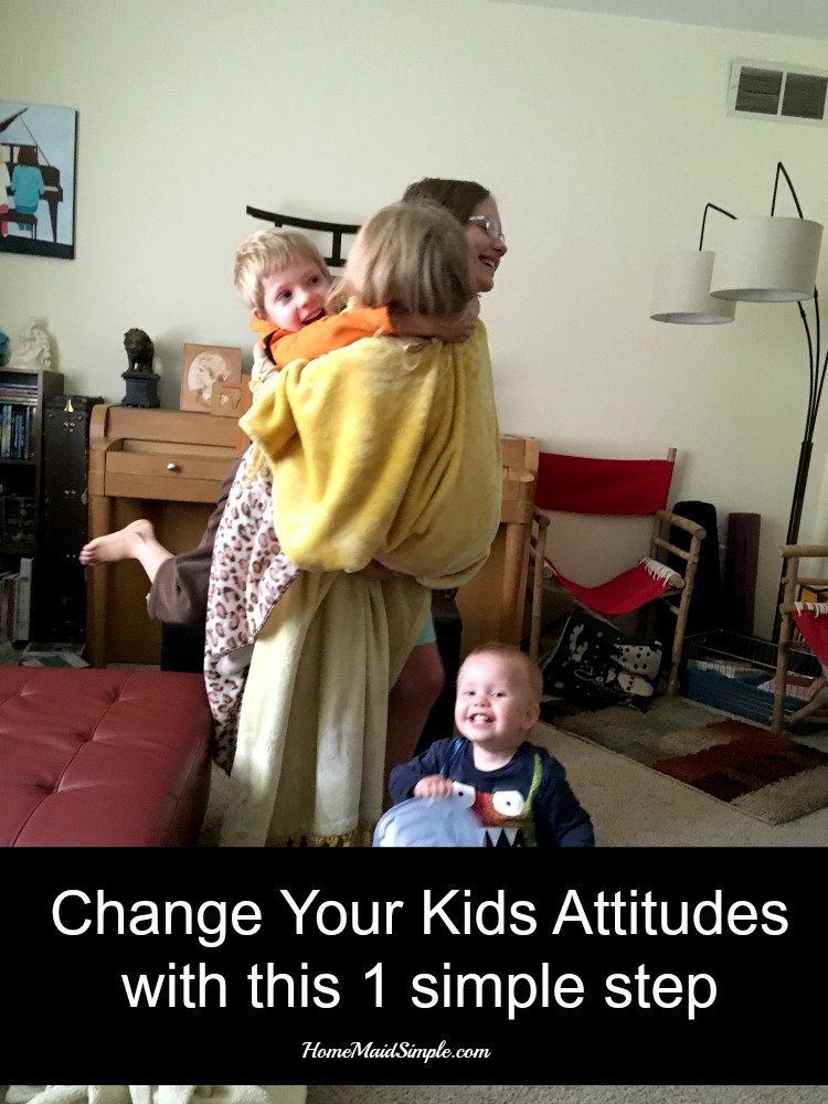 In 1 step you can change your kids attitudes toward each other, and have a more enjoyable home.