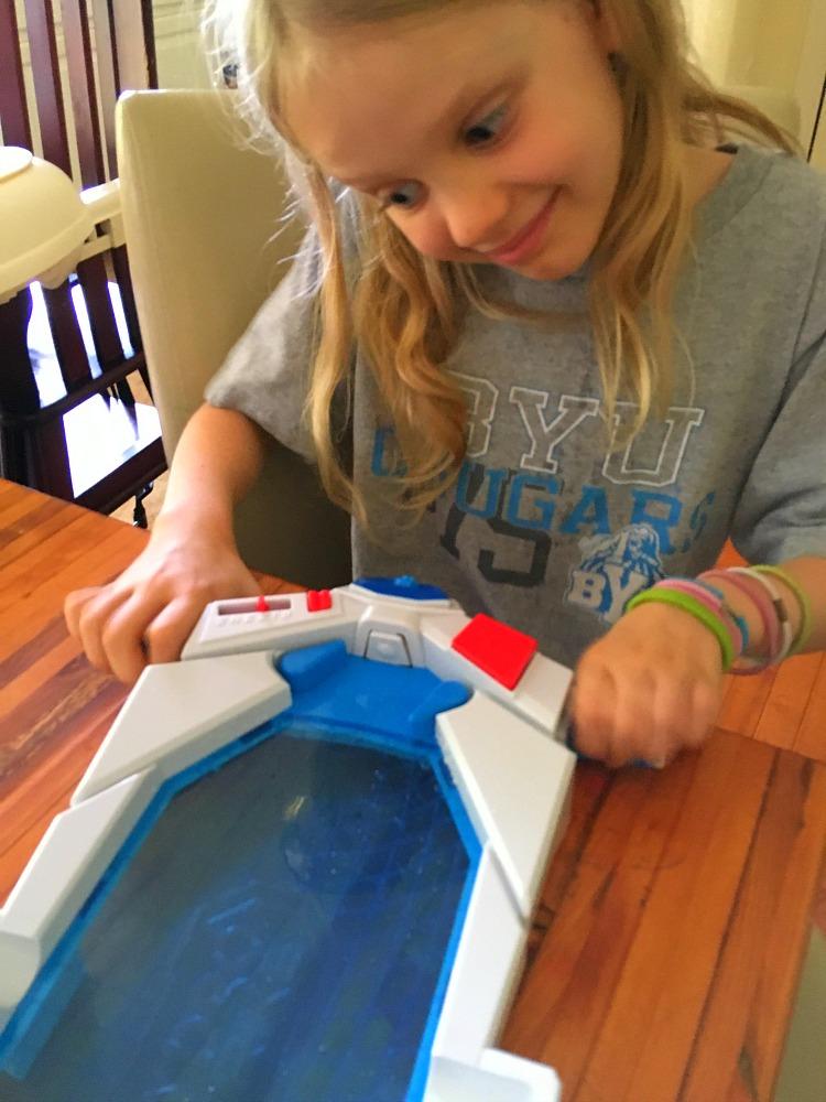 Hydrostrike encourages sibling bonding