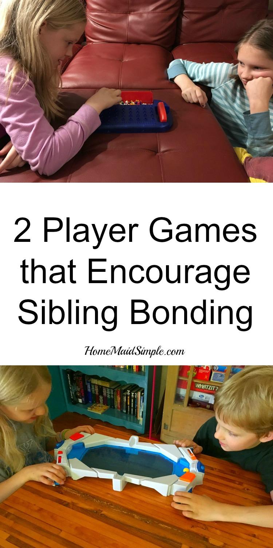 2 player games that encourage sibling bonding