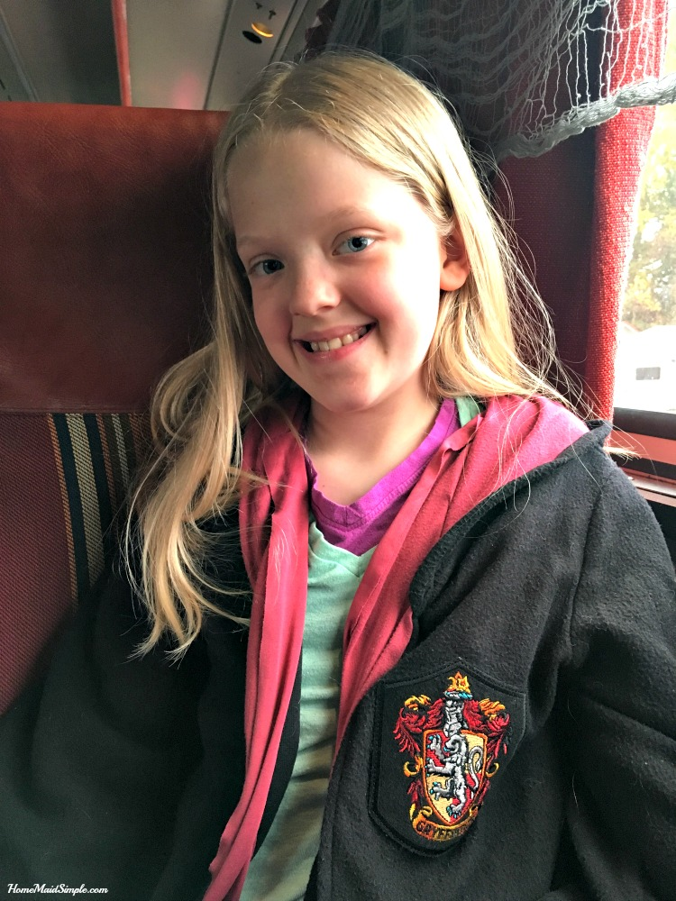 Harry Potter fans will love riding the Nickel Plate Express in Indiana.