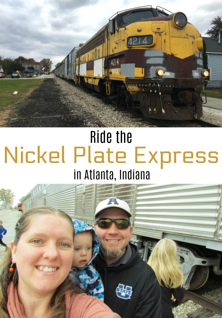 Take a ride on the Nickel Plate Express in Atlanta, Indiana. ad