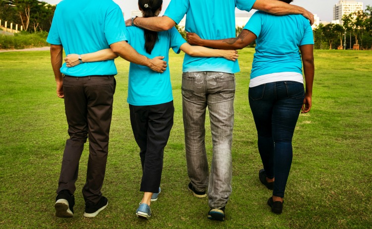 A good support network may be all the therapy some people need.