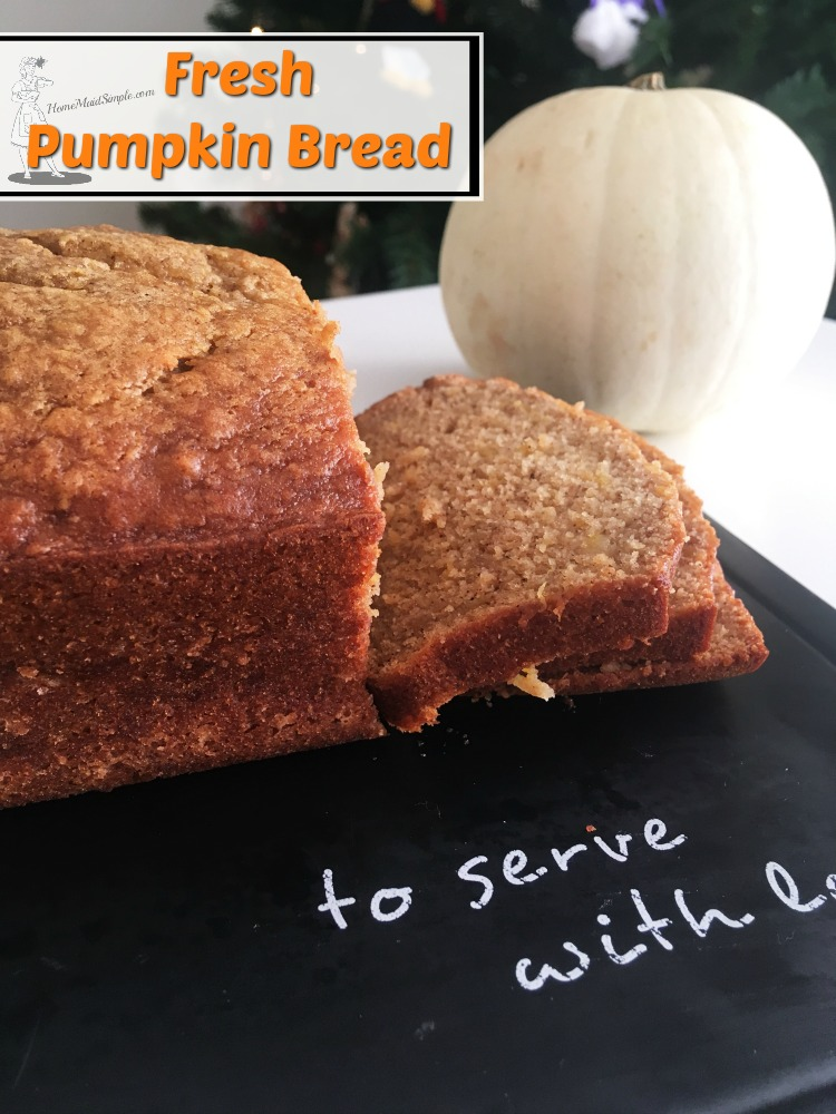 This recipe for Fresh Pumpkin Bread is everything your pumpkin loving self has wanted.
