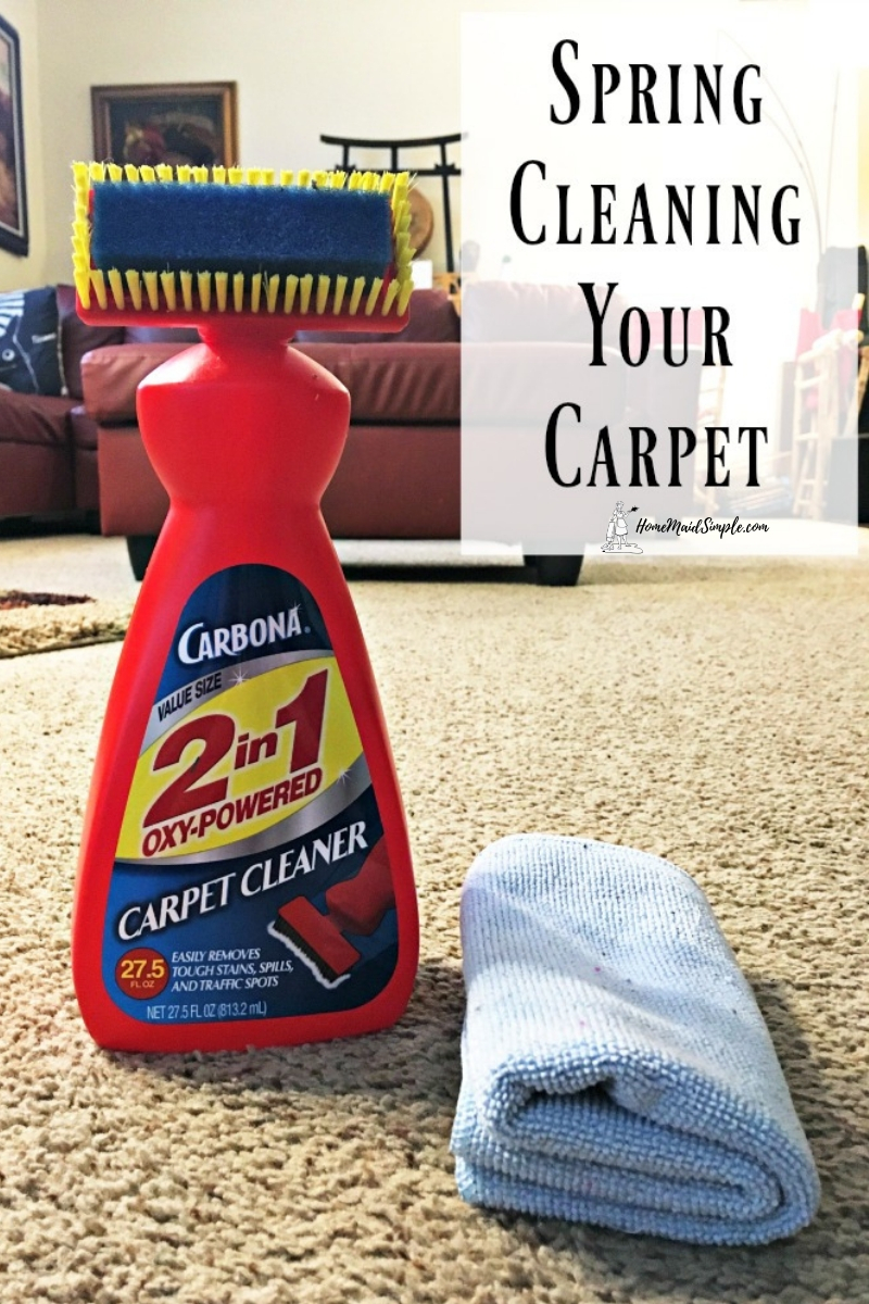 Spring Clean Your Carpet Home Maid Simple